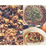 vegan trail mix tofu crumbles