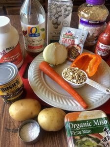 Vegan Chili Cheese Sauce Ingredients