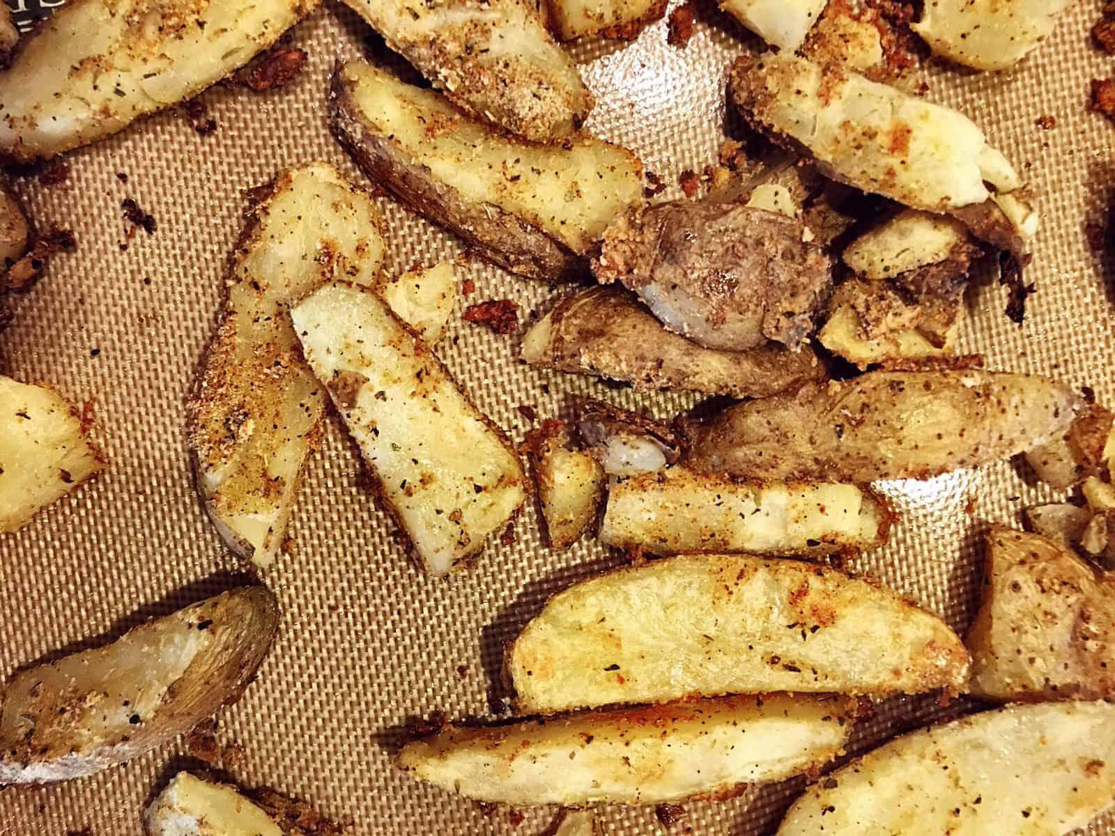 crispy oven baked potatoes