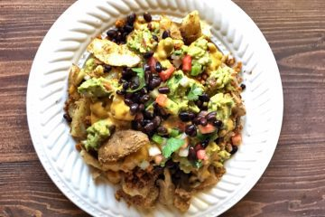 Loaded Nacho Potatoes