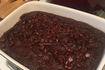 Brownies in the Pan