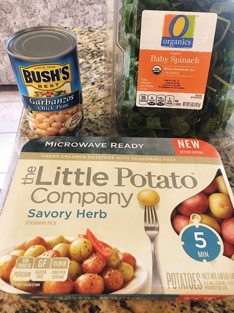 Little Potato Company Quick and Easy Ingredients
