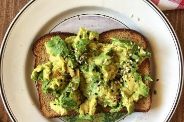 Avocado Toast with Seasonings