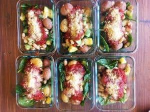 Meal Prep Italian Potatoes