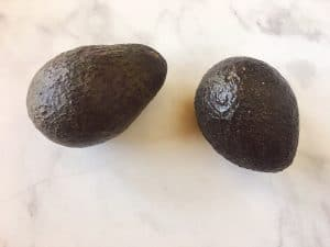 Two Avocados