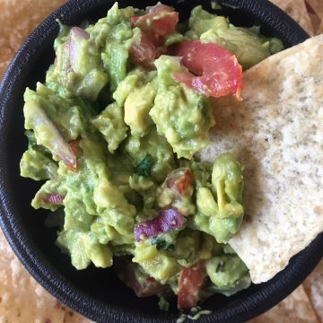 Guacamole with one Chip