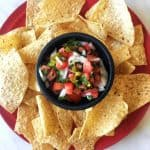 Pico de Gallo with Chips