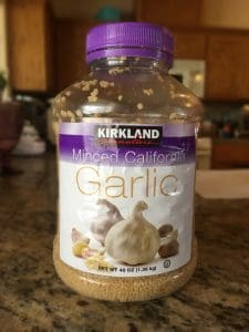 Garlic in Jar