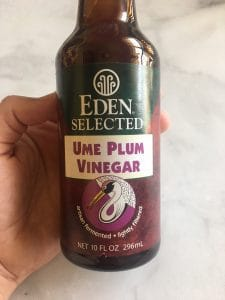 Ume Plum Vinegar