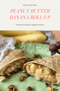 Peanut Butter Banana Roll-ups