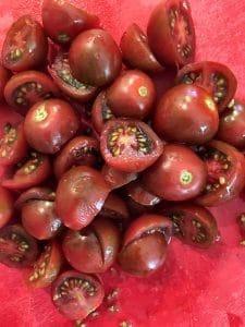 Cherry Tomatoes Cut