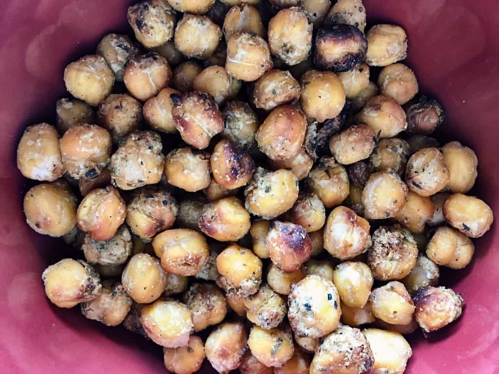 Italian Roasted Chickpeas in the Dish