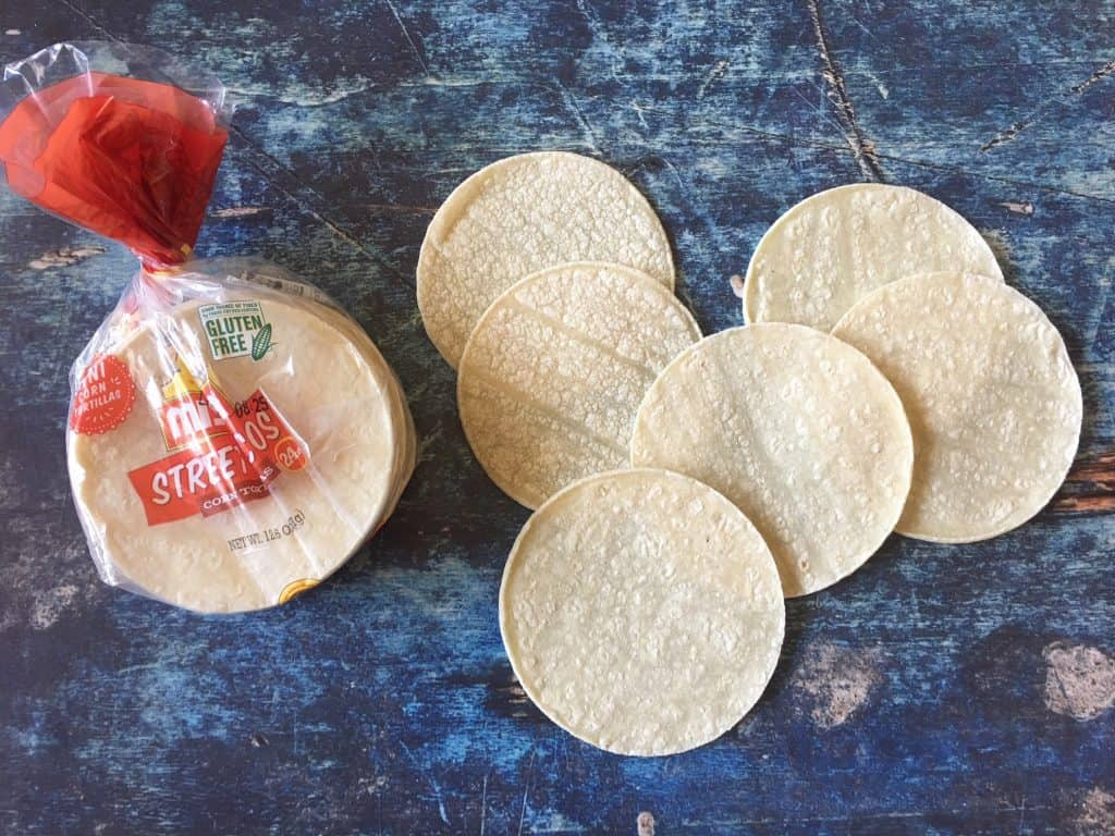 mini tortillas