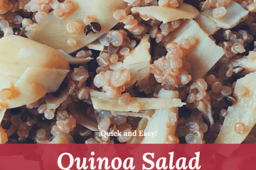 Quinoa Salad with Artichoke Hearts