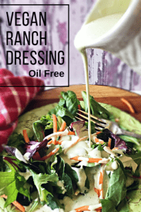 Oil-Free Vegan Ranch Dressing