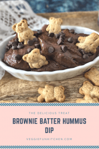 Brownie Batter Black Bean Hummus