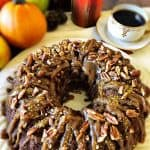 Apple Pumpkin Bundt Cake, Vegan and Plant-Based