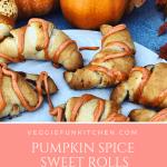 pumpkin spice sweet rolls
