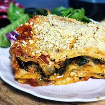 Vegan Lasagna with béchamel