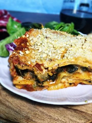 Vegan Lasagna with béchamel