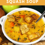Coconut Curry Butternut Squash Soup Pin