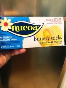 Nucoa Buttery Sticks