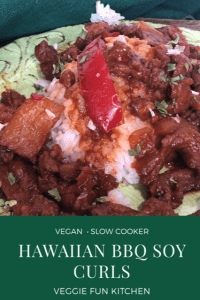 hawaiian bbq soy curls pin