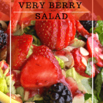berry salad in yellow dish