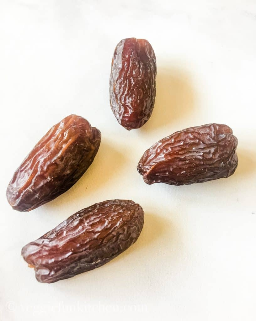 four medjool dates
