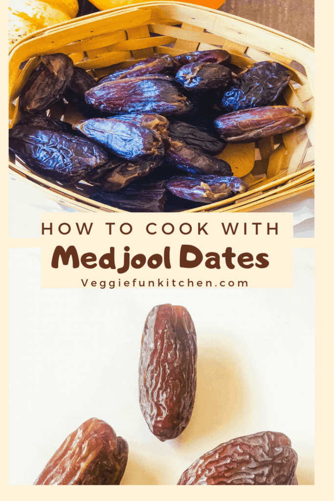 medjool dates in a basket and on a white backgroud