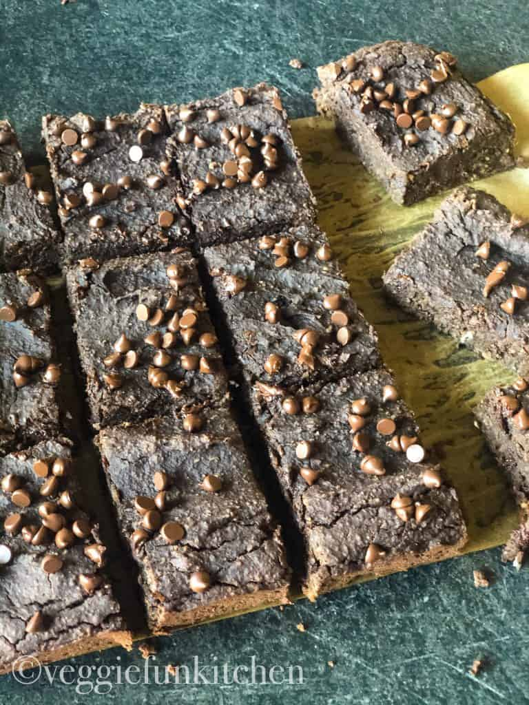 Vegan Black Bean Brownies Veggie Fun Kitchen