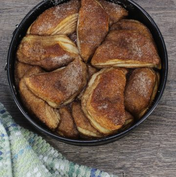 monkey bread in pan