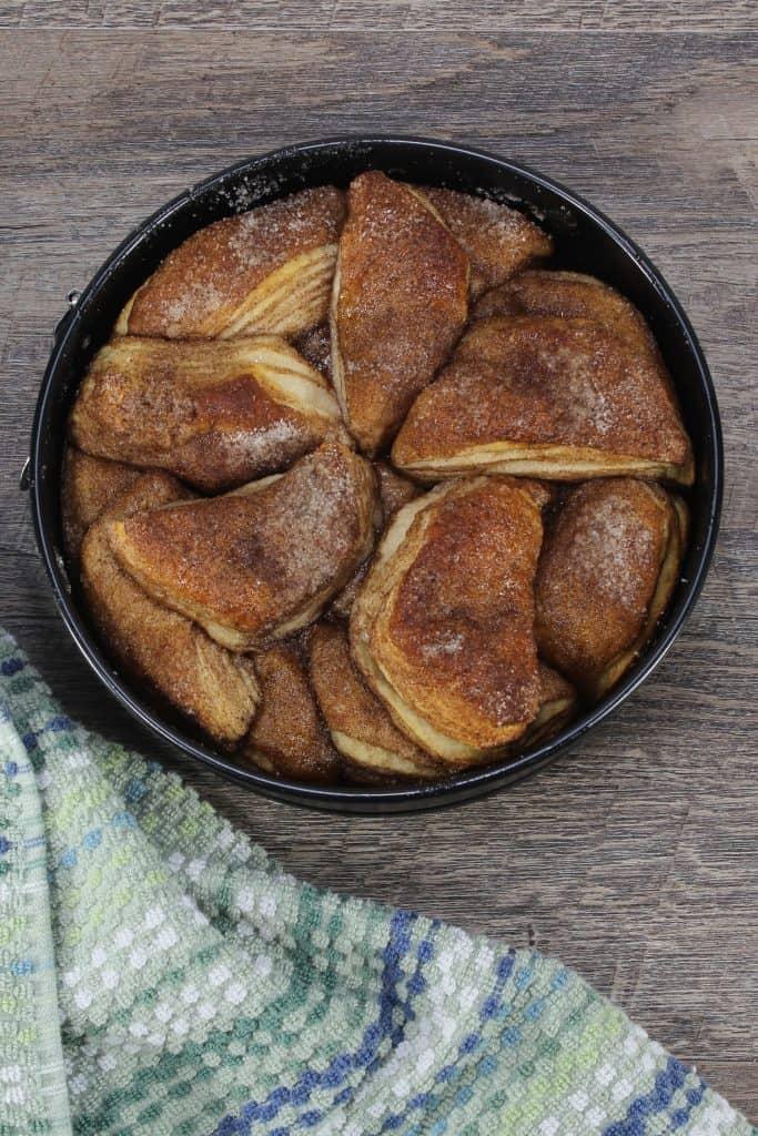 monkey bread in pan