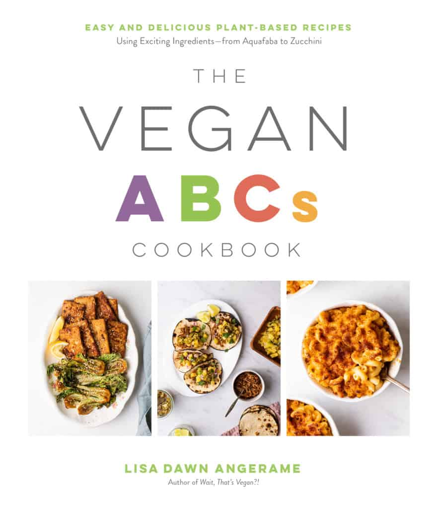 front cover from The Vegan ABCs Cookbook