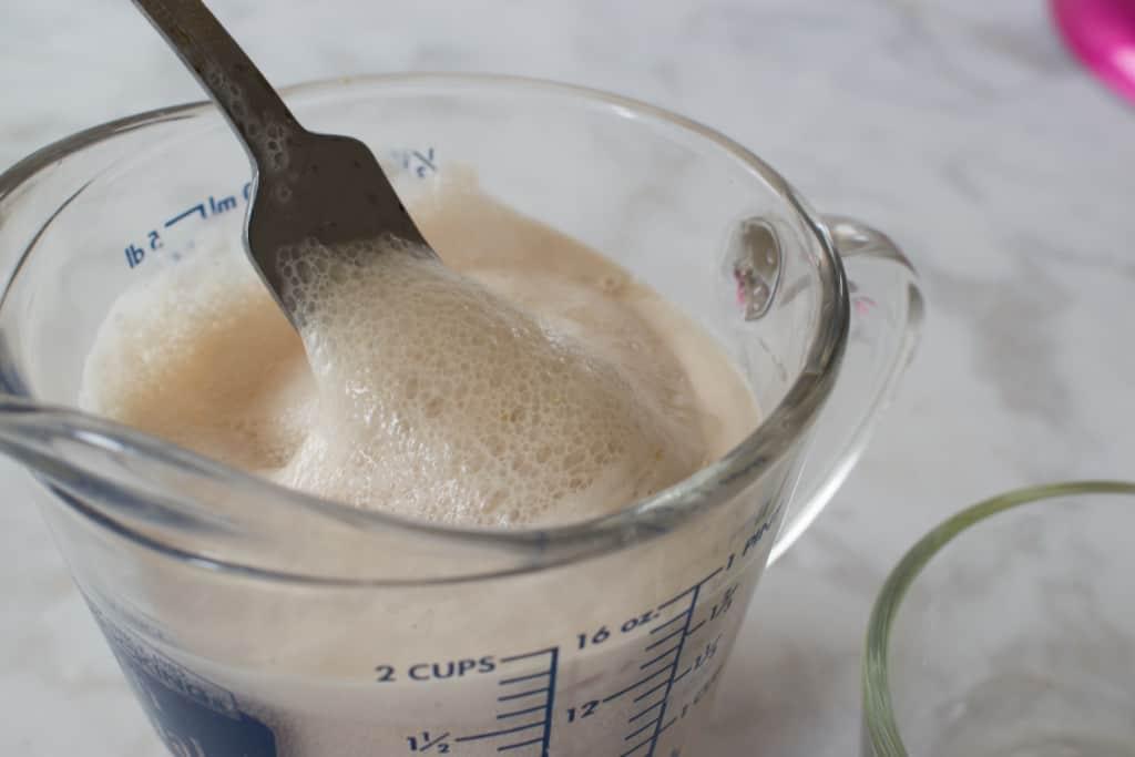 foamy proofed yeast